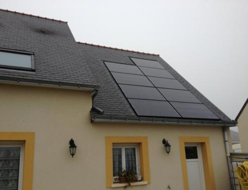 Installation panneaux photovoltaïques aux Sables d'Olonne 85