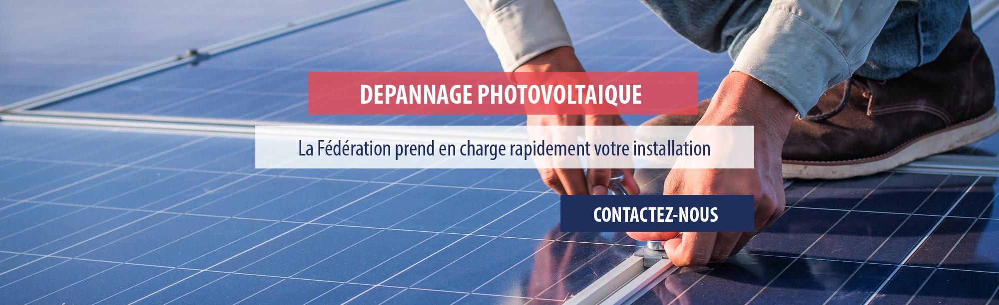 Dépannage solaire photovoltaïque