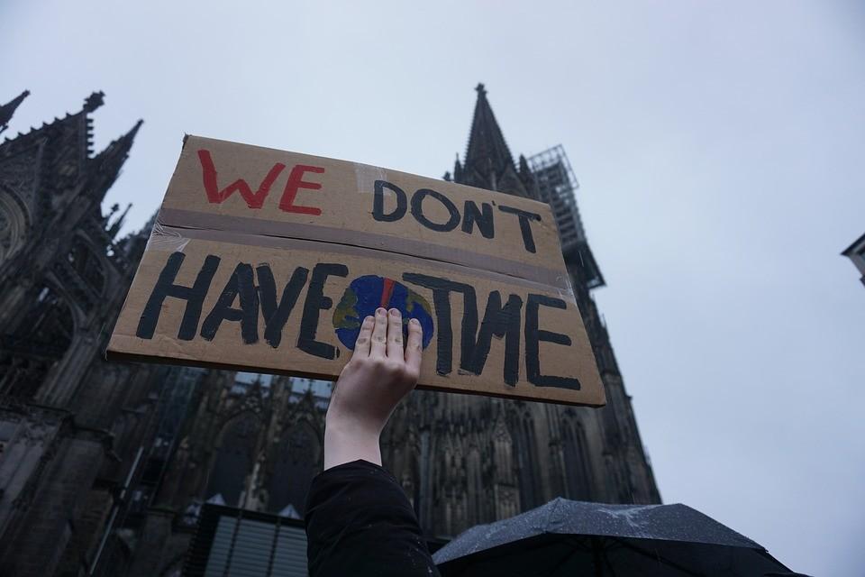 Manifestation pour le climat paris